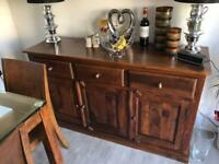 Table and dresser for sale