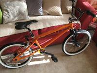 "BMX "" CUSTOM STUNT BIKE "" BARGAIN £60 OVNO"