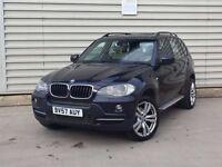 2007 BMW X5 3.0 30d SE 5dr auto**SAT NAV + leather + PAN ROOF+XENON**LOOKS AD DRIVES SUPERB
