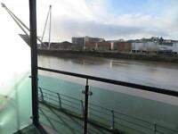 Double Bedroom in Renaissance Point flat overlooking the River Usk