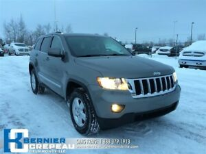2013 Jeep Grand Cherokee Laredo **4X4, PLAN D'OR 7 ANS/115000 KI