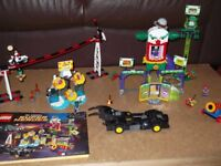 LEGO DC Super Heroes Jokerland 76035 + Batman The Riddler Chase 76012 (both Retired sets)