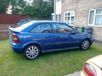 ASTRA SRI ,1.8, 2003, BREAKING FOR SPARES, EXCELLENT ENGINE AND G/BOX