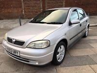 2003 VAUXHALL ASTRA AUTOMATIC / LOW MILEAGE / ELECTRIC WINDOWS / STEREO / MARCH MOT .