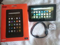 "Amazon Kindle Fire Tablet Kodi 7"" Wifi 5th Generation 16GB eReader Notebook HD Screen Car Monitor"