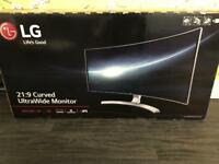 34inch LG Ultrawide Monitor
