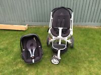 Buggy and car seat