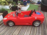 Child's 6 Volt Electric Car