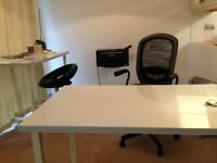 Desk and Chair + other home furniture for a bargain price.