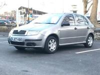 2007 (Jun 07) SKODA FABIA 1.2 HTP 12V CLASSIC - 5 Doors - Manual - Petrol - SILVER *MOTCHEAP RUNNER*