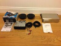Blaupunkt Car Stereo & Sony 10 CD Changer & 2 Speakers