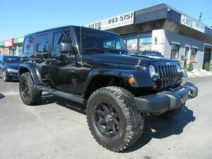 2012 Jeep Wrangler Unlimited Sahara (UNLIMITED, Automatic, 4x4)