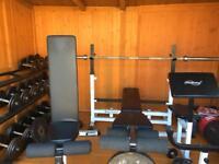 Fully gym weight set