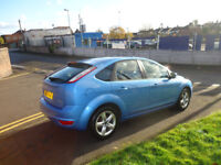 60 PLATE FORD FOCUS ZETEC 100 1.6 PETROL TOP CONDITION 12 M MOT 3 M WARRANTY 2 FORMER OWNERS