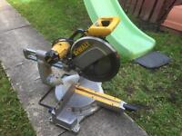 DEWALT 1500w MITRE SAW FROM USA