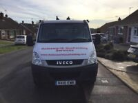 Iveco Dropside aluminium buck 12.5 ft lovely condition no vat
