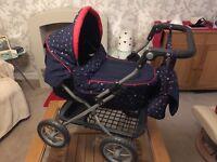 Children's Pram (Graco) and Baby Doll Swing - Bundle