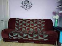 5 pcs sofa bed set with storages