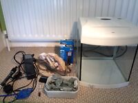 Tropical Fish tank and equipment