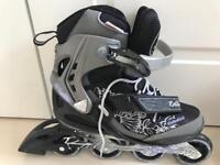 Ladies rollerblades/inline skates (size 6/39eu)