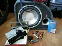 Sub and stereo plus vauxhall corsa wires
