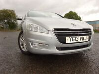 013 PEUGEOT 508 ESTATE 2.0 DIESEL,MOT APRIL 019,2 OWNERS FROM NEW,PART HISTORY,STUNNING EXAMPLE