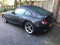BMW Z4 coupe (rare) individual,satnav,leather xenons
