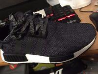 Adidas NMD R1 - Men Shoes (Original price £ 99.99) – black-black-black, reflective 3M, dead stock!