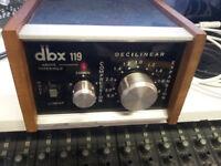 DBX119 Vintage Analogue Compressor