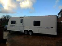 2010 Bailey Pegasus 624 touring caravan ready to roll lots of added extras