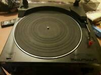 Jvc turntable record player