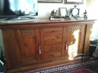 High quality solid venetian sideboard