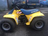 Suzuki lt50 quad & trailer for sale