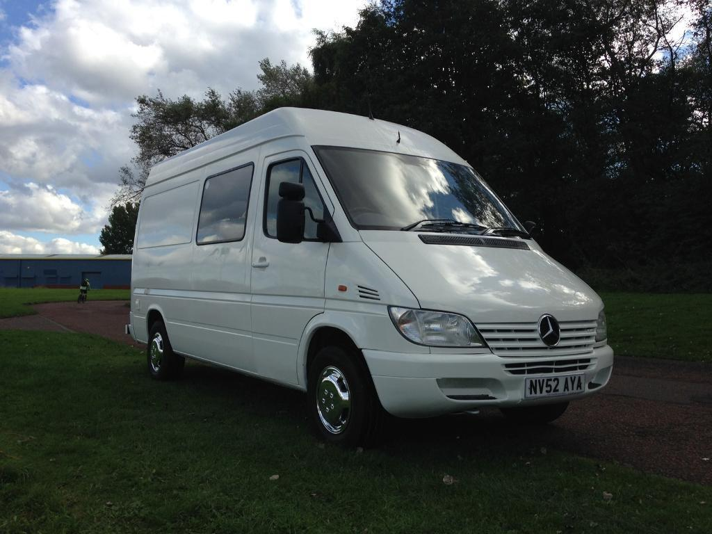 mercedes sprinter 308 cdi mwb camper van just built see ad. Black Bedroom Furniture Sets. Home Design Ideas