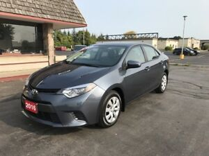 2016 Toyota Corolla LE back up camera and heated seats!