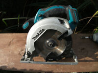 Professional Makita 18v Battery Cordless Circ Saw BSS610 Body Only! Full Working!