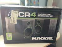 Mackie cr4 reference multimedia monitors