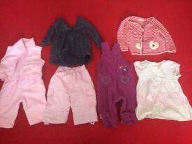 BABY GIRL CLOTHES £10