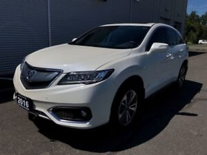 2016 Acura RDX Base w/Elite Package NAV roof loaded