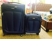 Samsonite MOVELITE SPINNERS 2 Piece Set Luggage / Suitcase In stunning Blue