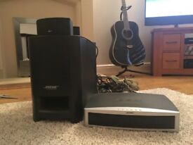 Bose 321 surround sound system DVD player