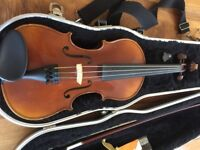 Half size Raggetti violin in excellent condition