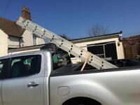 Cab Rak - ladder base for pick ups