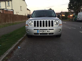 Jeep Patriot 2.0 CRD Limited Station Wagon 4x4 5dr £4,495 p/x welcome 2008 (08 reg), SUV