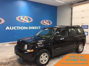 2016 Jeep Patriot Sport/North ONLY 12934KM FINANCE NOW!