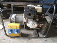 5.5kva Generator powered by 13hp Petrol engine