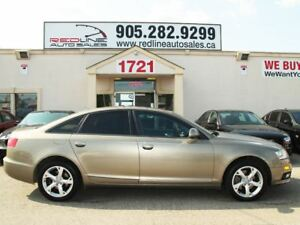 2009 Audi A6 Leather, Sunroof, Alloys, WE APPROVE ALL CREDIT