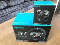 Logitech G29 Wheel, pedal & shifter *brilliant condition* *still under warranty*