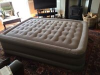 Sable Raised Queen Sized Air Bed