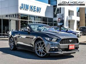 2015 Ford Mustang CONVERTIBLE*AUTO*2.3L 4V*NAVIGATION*20 INCH BR